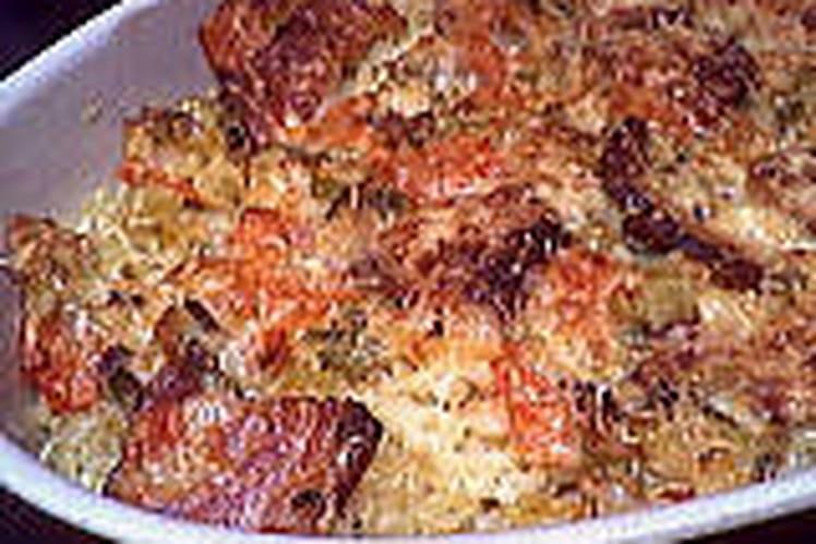 recette de gratin de p226tes au poulet la recette facile