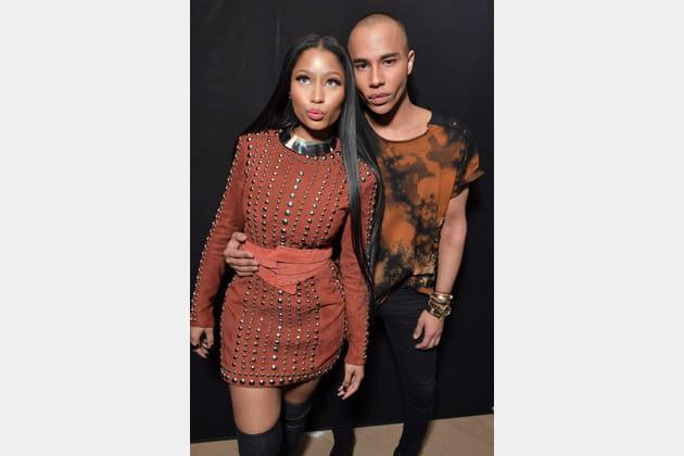 Nicki Minaj et Olivier Rousteing