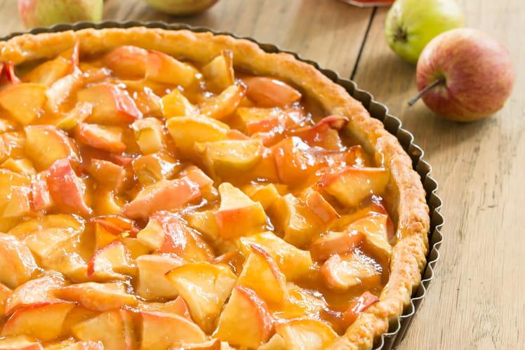 Tarte aux pommes et à la Gelée de Coings
