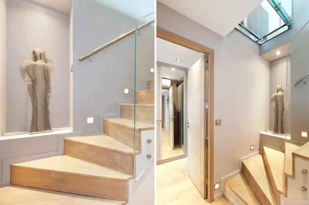 Un escalier très déco
