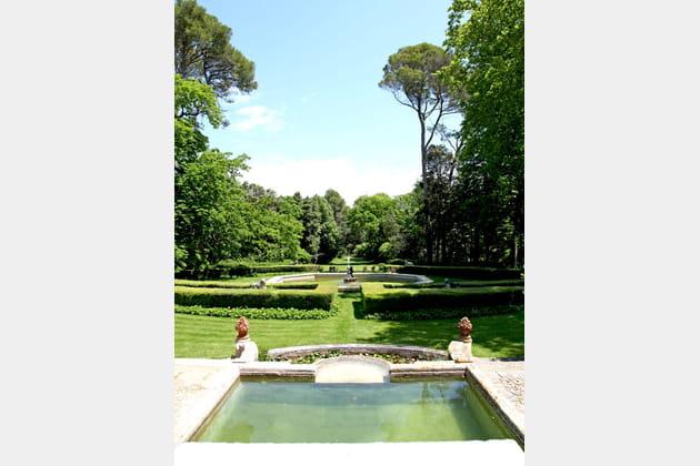 Allées de jardin classique