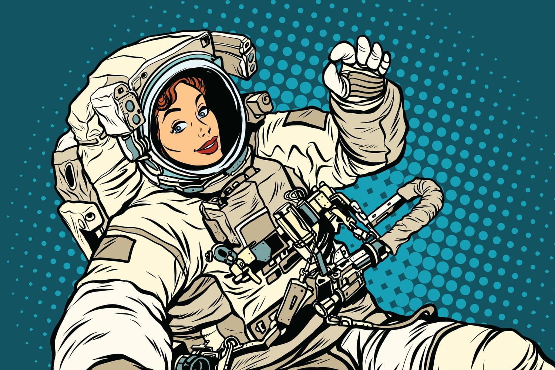 Pas de pitié pour les femmes astronautes!