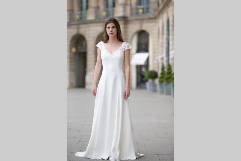 5c76271900afa Robe de mariée Alésia, Christophe-Alexandre Docquin