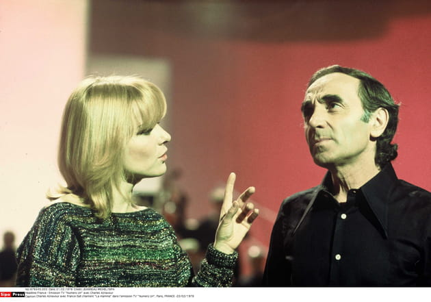 Avec France Gall en 1976