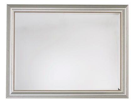 Un miroir pour agrandir for Hauteur miroir au dessus buffet