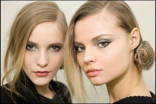 Le look maquillage du défilé Chanel prêt-à-porter automne-hiver 2011- 2012