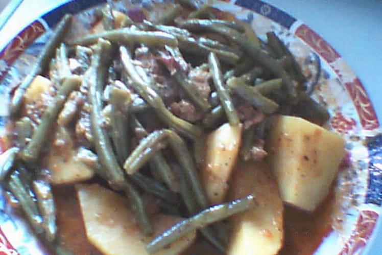 Tajine de veau aux haricots verts