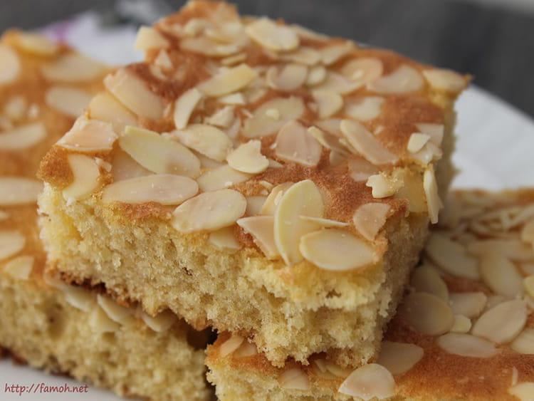 Gâteau Amandes Et Amandes Effilées