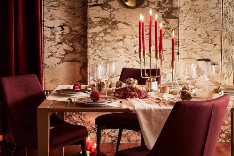 Table de Noël: repérage des bonnes idées pour une déco festive