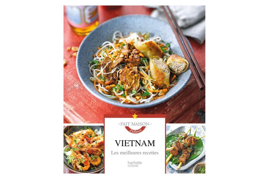 Concours : Gagnez 5 livres Vietnam, les meilleures recettes de Hachette Cuisine