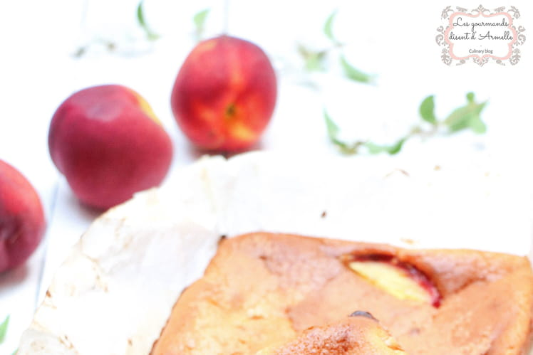 Clafoutis aux nectarines parfumé à la vanille