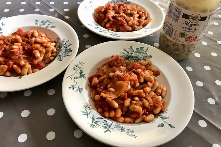 Mogette de Vendée à la tomate
