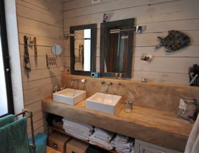 la salle de bains de morgane