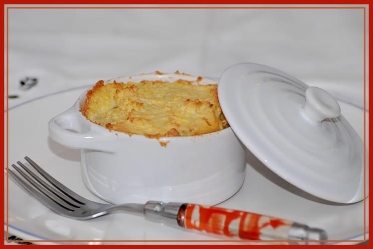 Cocotte aux pommes de terre et cabillaud