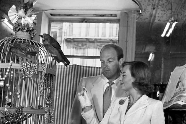 Shopping en couple, 1947