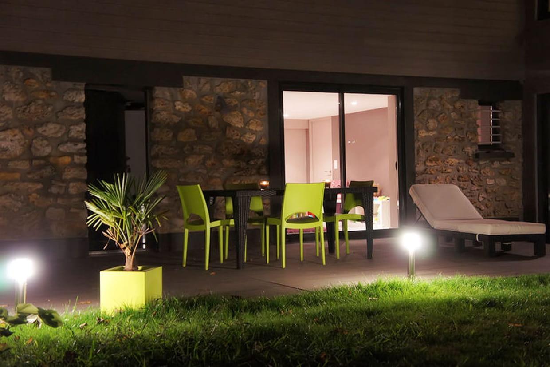 C t jardin la nuit - Jardin romantique nuit perpignan ...