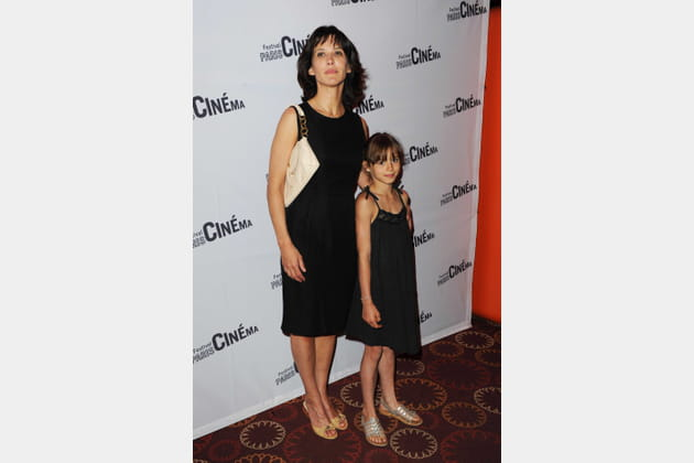 Avec sa fille, Juliette Lemley