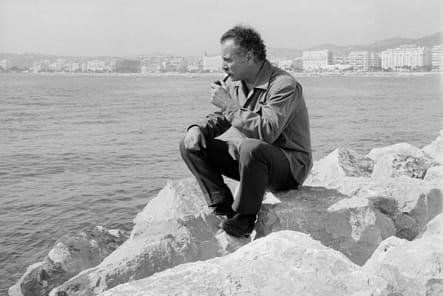 Georges Brassens en vacances sur la Côte d'Azur en 1965