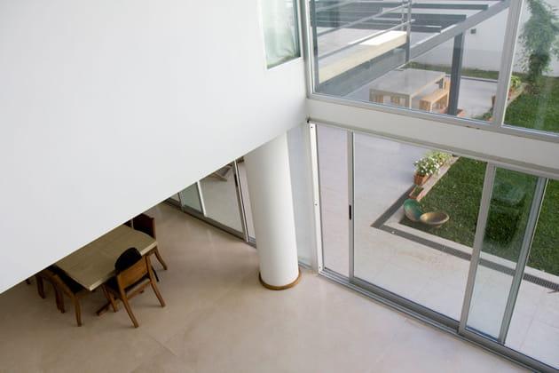 Une architecture à l'effet loft