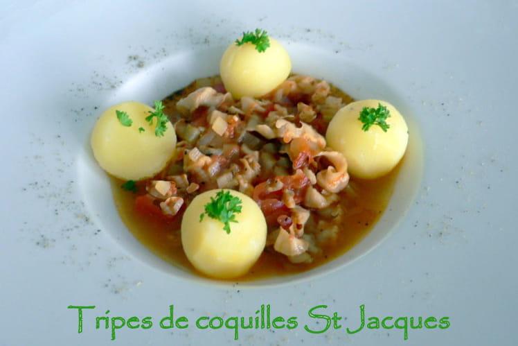 Tripes de coquilles Saint-Jacques