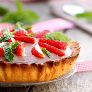 tarte after eight aux fraises