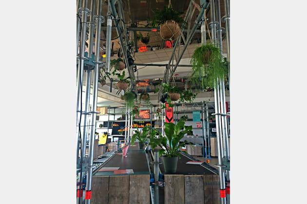 Café à Groothandelsgebouwen, nid de start-ups