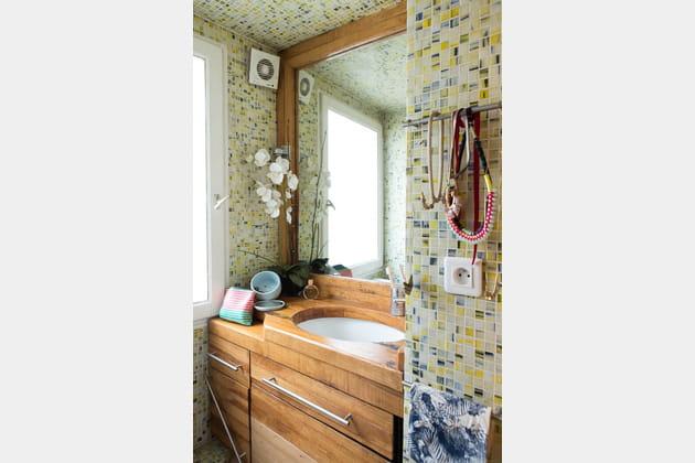 une salle de bains carrel e. Black Bedroom Furniture Sets. Home Design Ideas