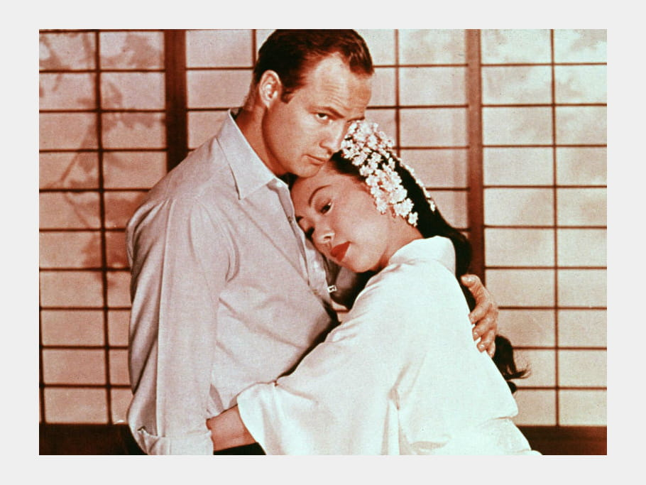 Mort Marlon Brando Sayonara, 1957