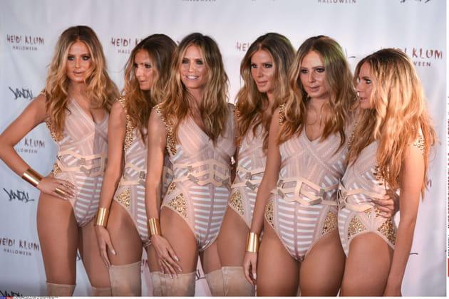 Heidi Klum et ses clones