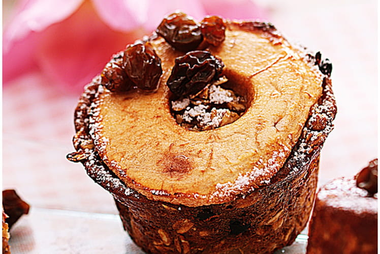 Recette de Muffins flocons d'avoine & fruits secs