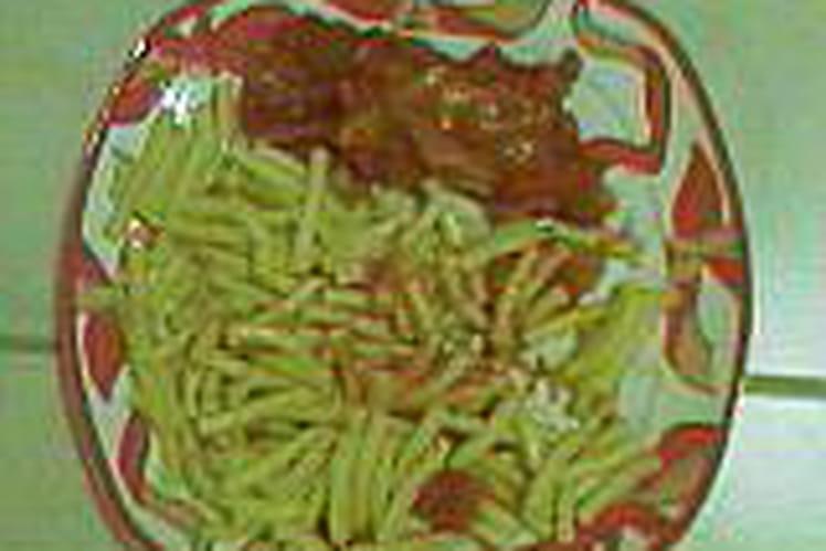 Cabillaud au curry, tomates et vin blanc
