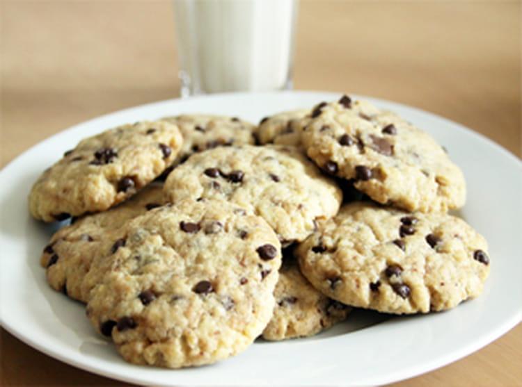 recette de cookies moelleux vanille chocolat la recette. Black Bedroom Furniture Sets. Home Design Ideas