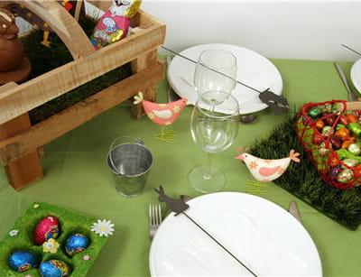 une table à l'esprit 'nature'