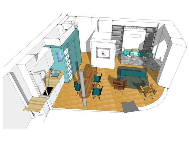 Après : le plan 3D