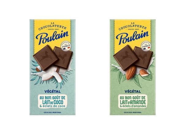 Les chocolats Poulain gamme végétale
