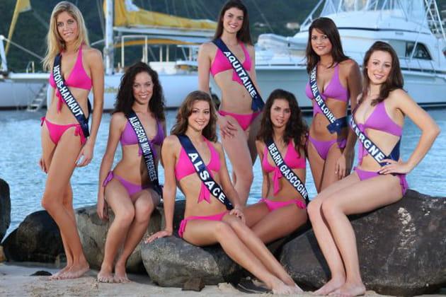 Miss France 2010, les candidates