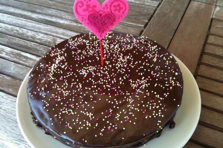 Gâteau à la crème de spéculos
