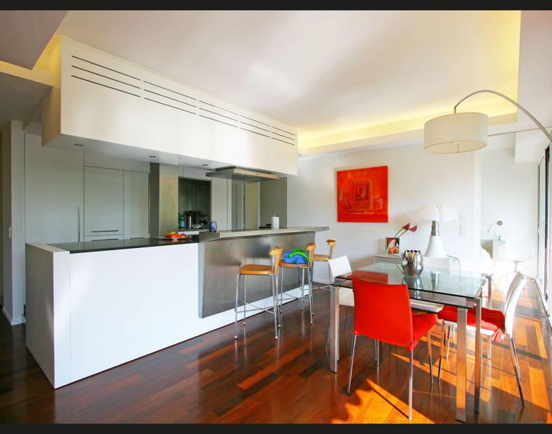 Une cuisine ouverte et design