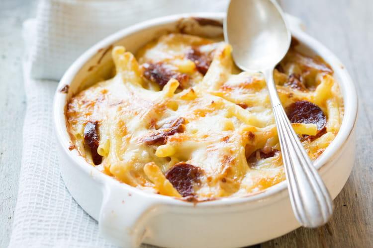 Gratin de macaroni au reblochon