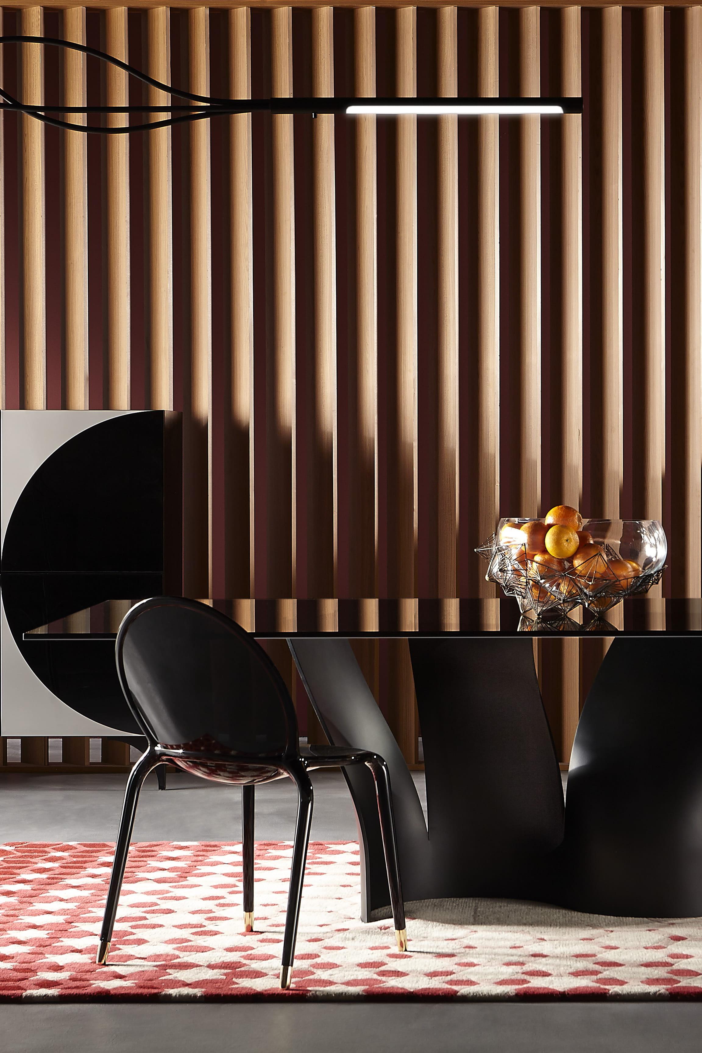 lampadaire vibrato de roche bobois. Black Bedroom Furniture Sets. Home Design Ideas