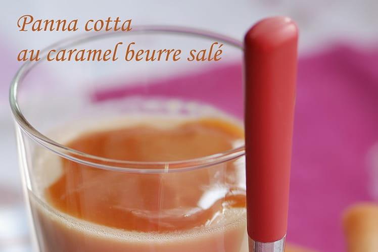 Panna cotta au caramel beurre salé