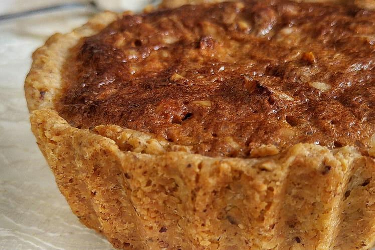 Tartelette aux noix, à la marmelade d'agrumes et à la mélasse brune, Walnut Pie