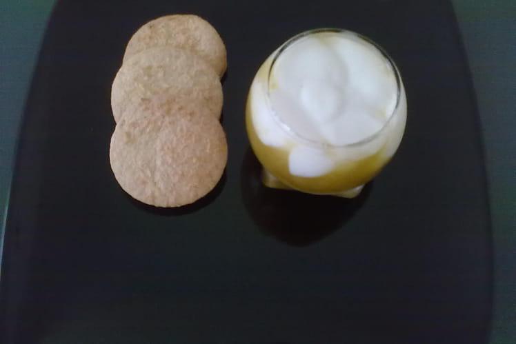 Coulis de prune au fromage blanc