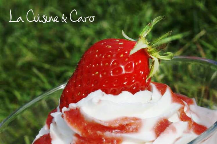 Duo fraise-tonka