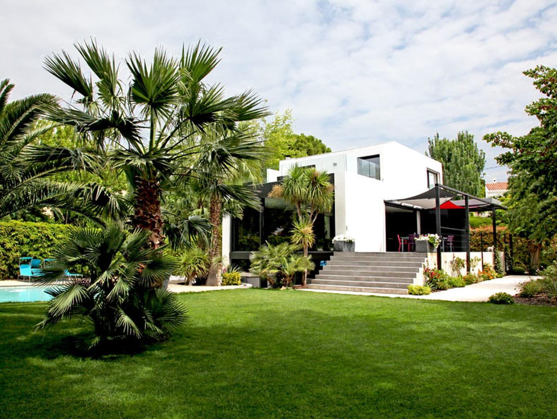 une maison d 39 archi avec vue sur la nature. Black Bedroom Furniture Sets. Home Design Ideas