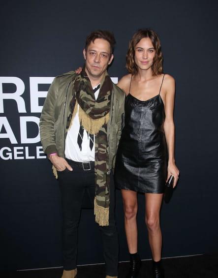 Jamie Hince et Alexa Chung