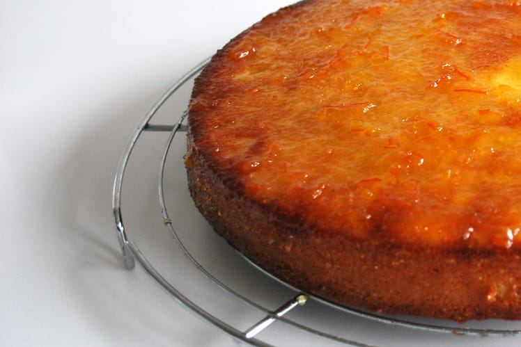 Cake à la marmelade d'oranges façon Jamie Oliver