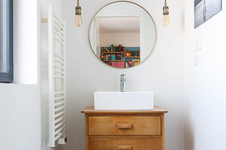 Radiateur de salle de bains: type, puissance, installation...