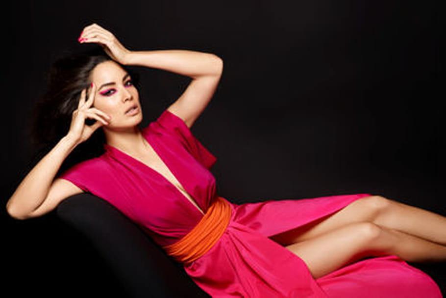 Karl Lagerfeld shoote la James Bond girl Bérénice Marlohe pour Eres