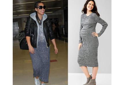 Alicia Keys : une robe pailletée